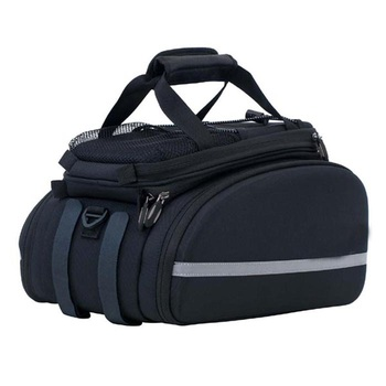 durable cycling bike pannier rear seat trunk pack large bicycle transport bag