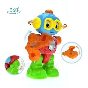 Baby Pretend Play Robot with a Personality. Right size Action Figure with Different Mood Spin Eyes. Go Ahead and Take a Spin