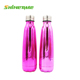 500ml Electroplating Galvanized Stainless steel copper plate cola shaped water thermos drink bottle
