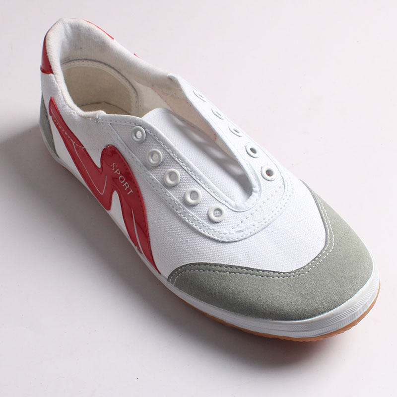 rubber vulcanized canvas shoes OEM Kungfu canvas shoes