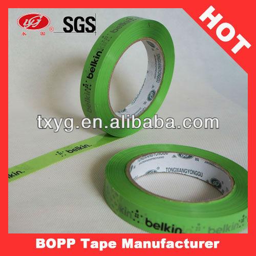 Green Tape Package Tape Adhesive Decorative Paper