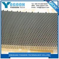 Ten-cent aluminum honeycomb vent panel used in racing bike