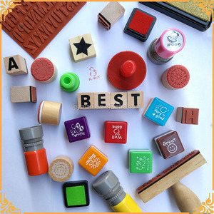 Manufacturer Supply rubber stamp materials with ink pad