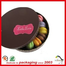 food grade packaging box food container paper tube cookies round box top brand name gold supplier