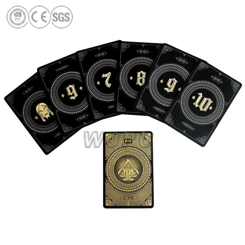 Wholesale Double Playing Deck Cards Custom Pvc Material Playing Cards
