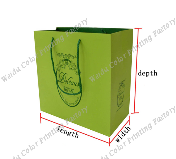 8235c56145 Recycled Custom T Shirt Packaging Paper Bags With Your Own Logo ...
