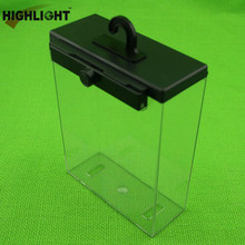 Highlight S035 eas clear safer box for cosmetics protection big cosmetics safer box for retail