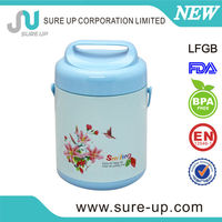 Customize logo and color stainless steel food carrier aluminium foil food container(CSUR)