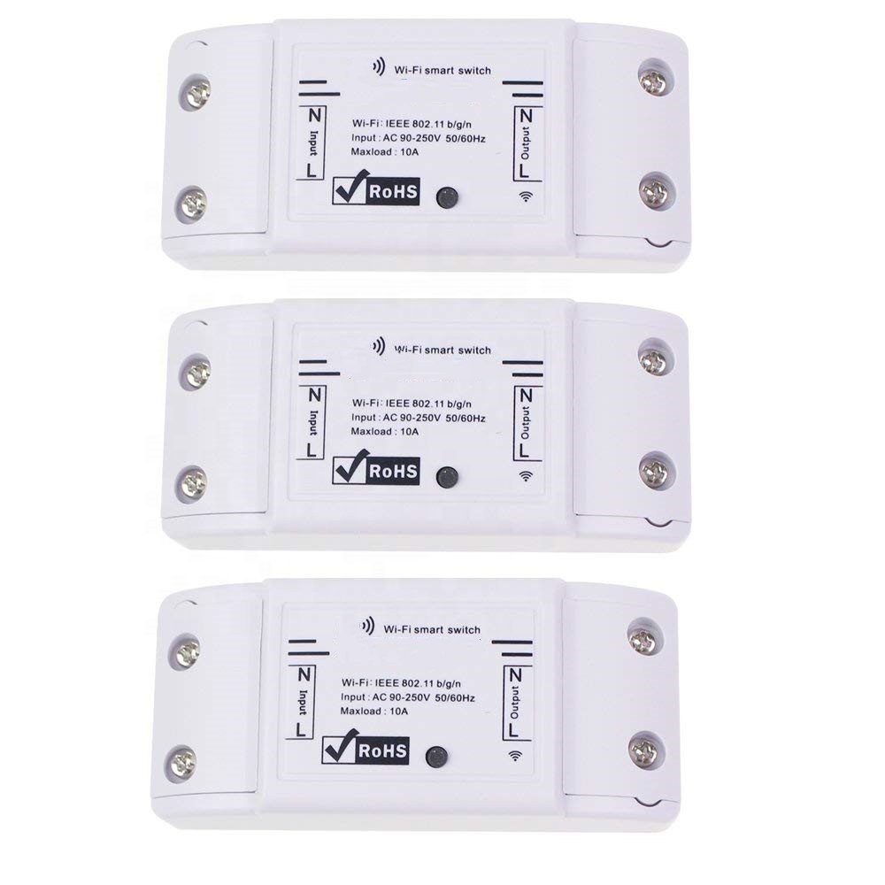 ZDURC wifi relay <strong>switch</strong>/WiFi Wireless Smart <strong>Switch</strong> Module ABS Shell Socket for DIY Home smart life tuya