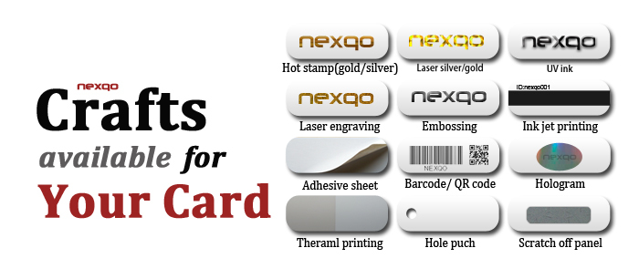 High quality PVC/Paper /Bio PVC NFC business card or member card
