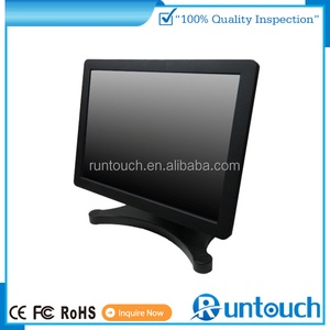"Runtouch RT-1500 pos monitor manufacturer supply 15"" resistive touch screen Through Glass Touch"