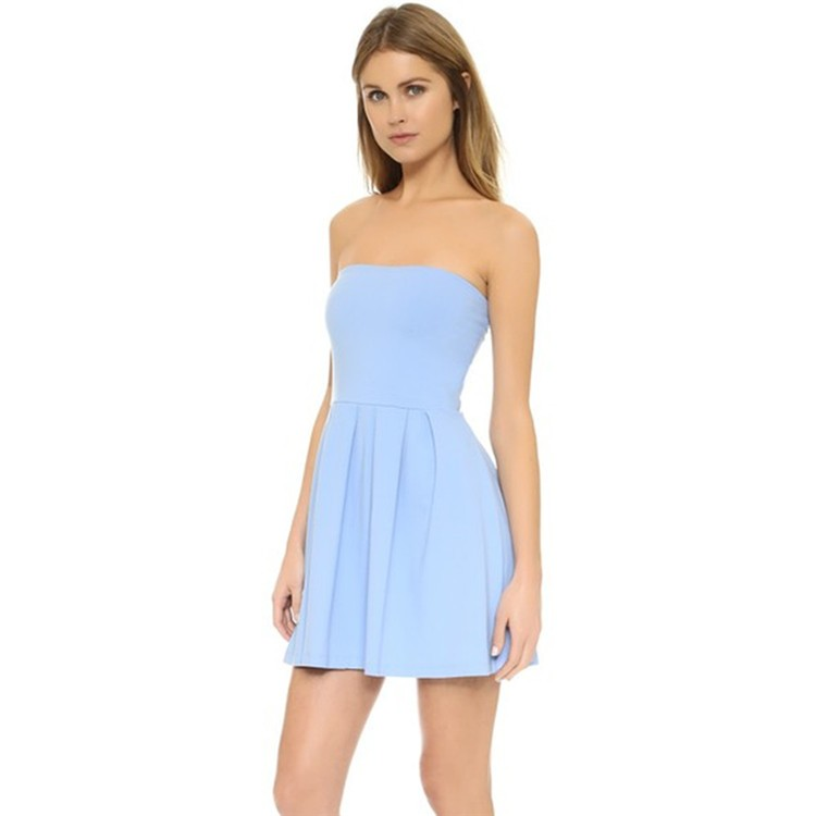Off Shoulder Long Sleeve Boob Tube Top Sexy Mini Dress Casual Party  Cocktail Dress