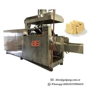 Automatic Chocolate Wafer Biscuit Making Machine Wafer Biscuit Production Line