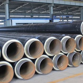 Outer Protective Jacket Carbon Steel Pre Insulated Pipe