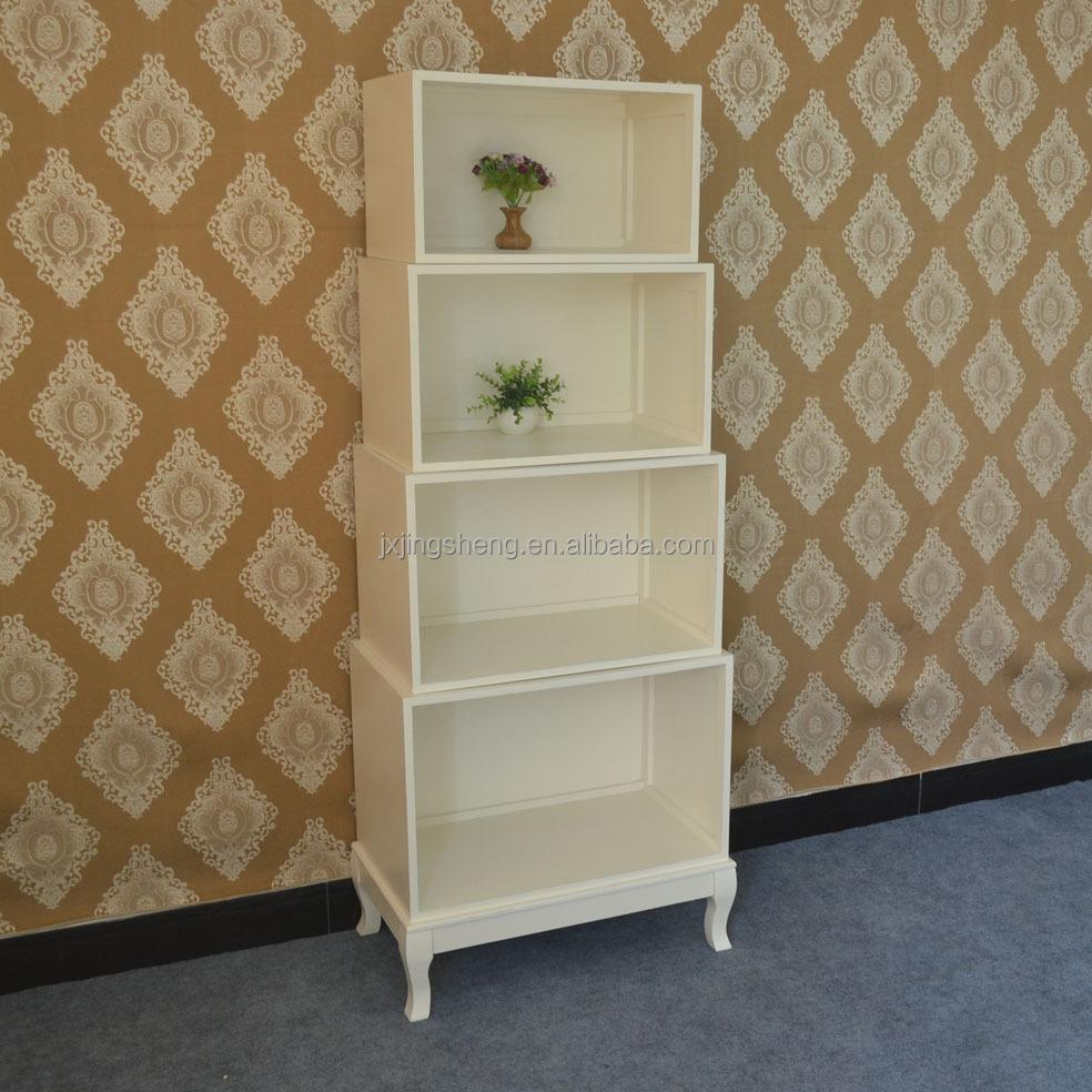 Wooden White Bedside Table In Bedroom Furniture - Buy Bedside ...