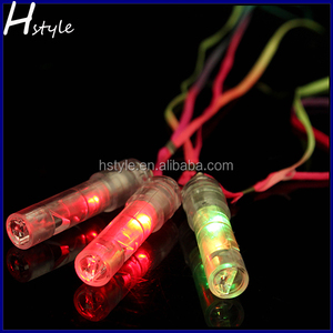 Multi-Color Lights Flashing LED Whistle with Lanyards SL017