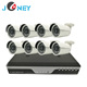Wired Home Surveillance Security System Kit 4CH 720P AHD CCTV DVR