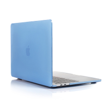 Factory price crystal plastic hard protective laptop shell case cover for new Macbook