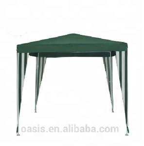 2X2m cheap small green water proof gazebo without window for yard garden events show