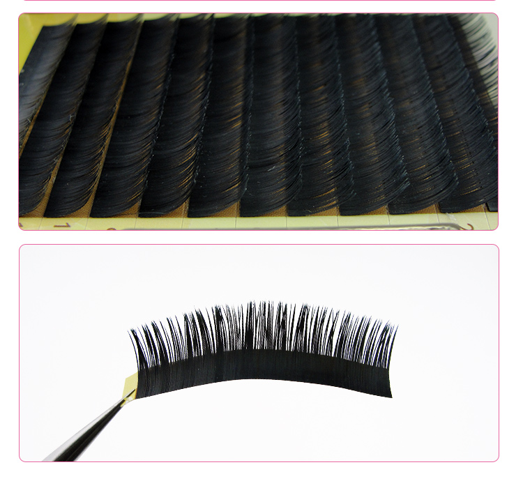 Competitive Price clear band false eyelashes hand made