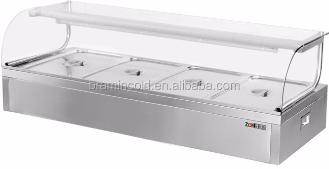 Amazing ... Stainless Steel Food Warmer/buffet Table/table Top Electric Bain Marie