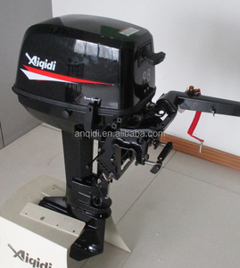 Chinese Supplier aiqidi Boat Engine T9.8 BMS 2 Stroke Outboard Motor Cheap Boat Motors