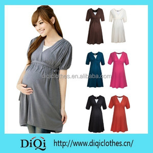 4abe2a1bf73 Brown Maternity Dress