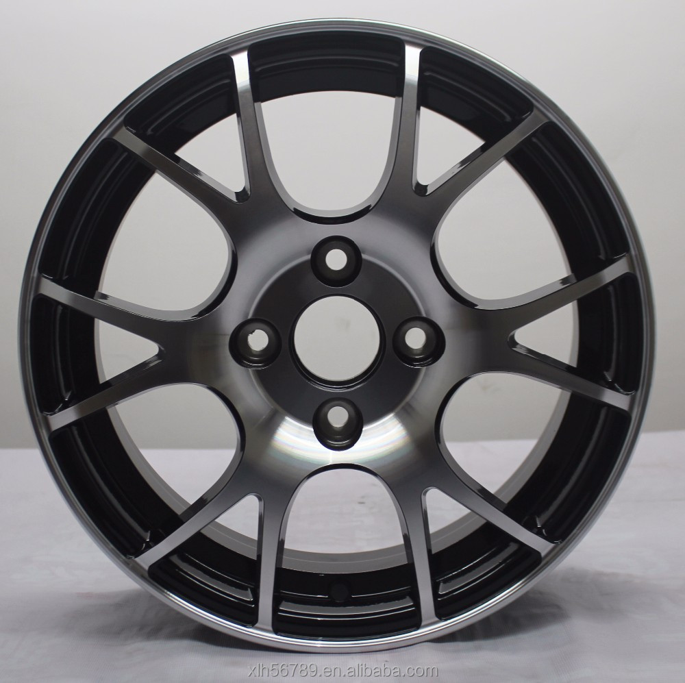 14 inch hot selling machine face alloy wheel rim for car