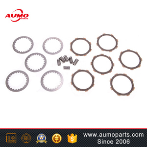 High quality clutch friction plates kit for Kinroad XT200ATV CG200 kinroad motorcycle