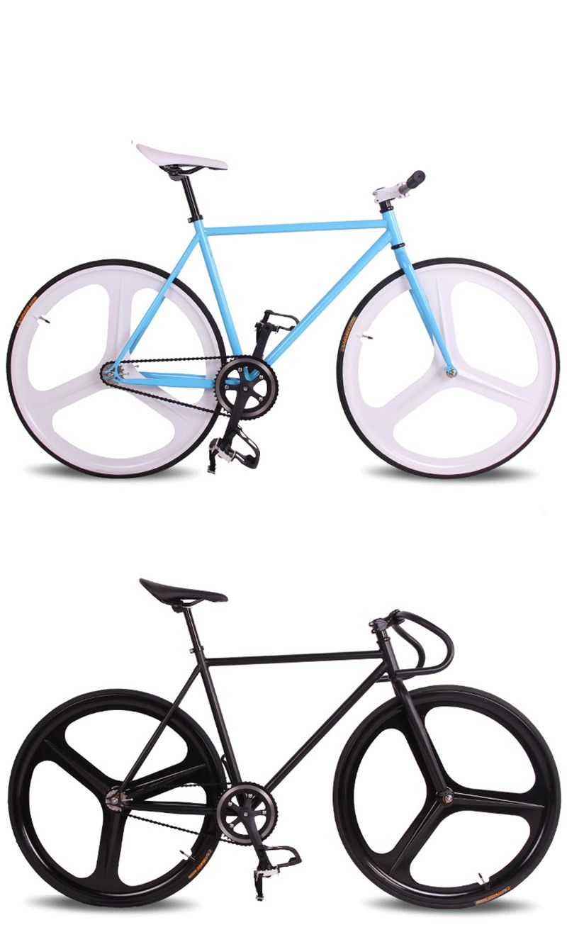 Fixed Gear Bike 46cm 52cm 56cm Diy Magnesium Wheels Road Bike 700c ...