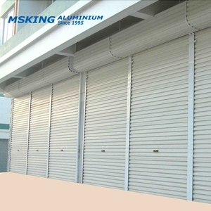 Custom-made aluminum shutter extrusion with ready mould made in 6063 T5