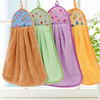 Lovely Hand Towels for Kids Strong Absorbent Soft Bathroom Hanging Wipe Towels