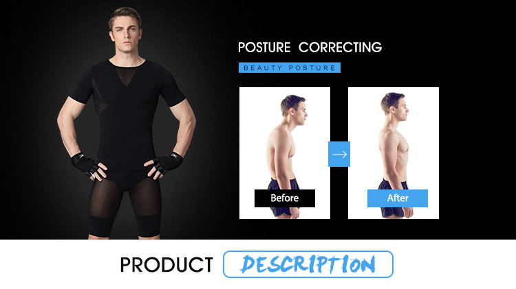 New Sale Men Slimming Breathable Body Shaper Private Label Gym Shaper for Weight Lose