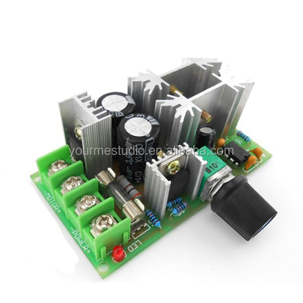 PWM converter 20A Automotive Blower / charge pump steam DC12V24V36V48V DC speed control module
