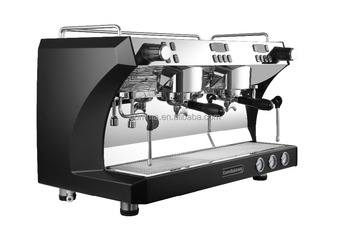 Commercial Two Heads Espresso Coffee Machine And Coffee Maker Buy