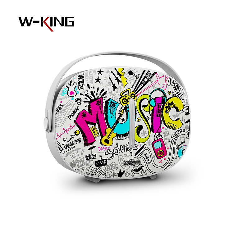 w-king S21 outdoor sport waterproof ipx5 multi-functional portable mini usb radio speakers for smart phones