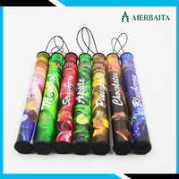 Popular selling fruit pure flavor disposable shisha pen 500 puffs slim electronic cigarette with lowest price