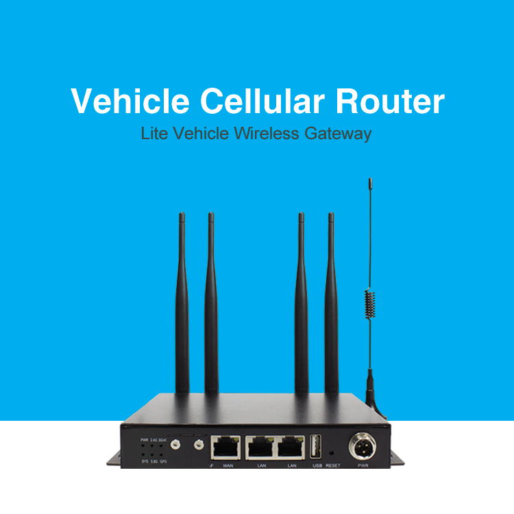 24v Vehicle 4g Lte Cellular Wifi Router Dual Band Wifi With