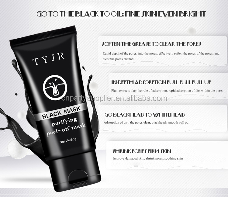TYJR Deep Cleansing Mask Purifying Mask Black Head Mud Face Mask