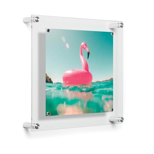 latest clear plastic 12 x 18 photo frame