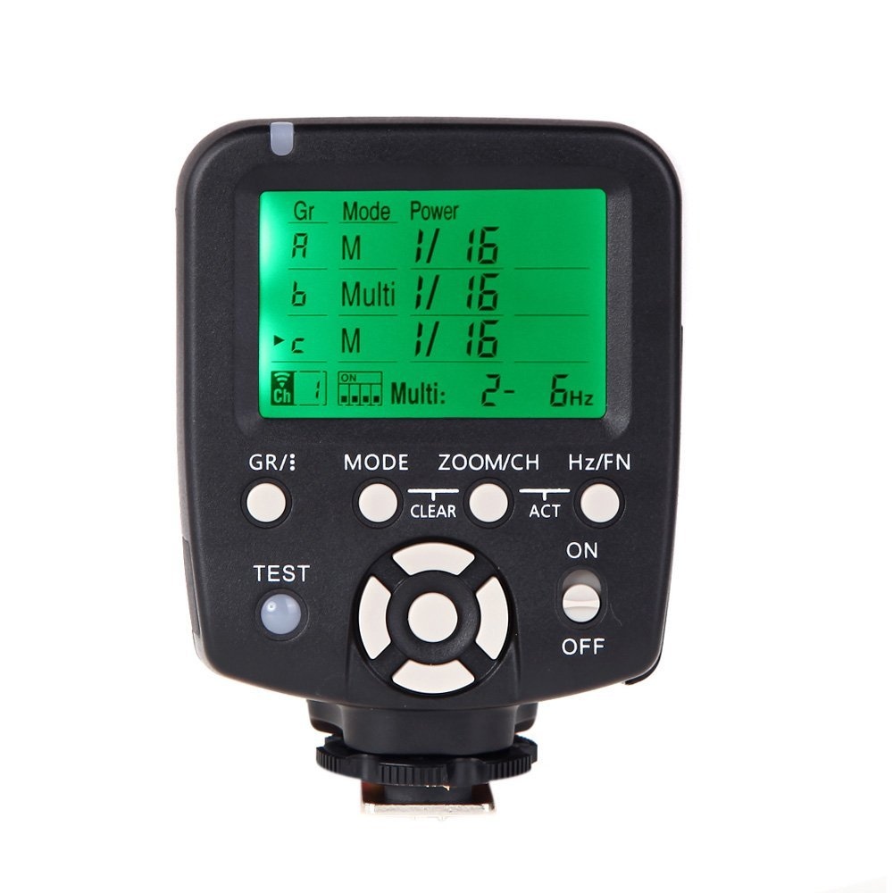 Yongnuo Yn560-tx LCD Flash Trigger Remote Controller for Yn560iii Speedlite Canon Dslr Camera Compatible with Rf-602/rf-603/rf-603ii