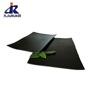 Cheap High Friction Black 1mm Thick Sbr Rubber Floor Mat