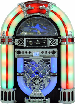 Table-top Mini Jukebox Cd Player Usb,Sd,Mp3,Aux - Buy Jukebox Cd