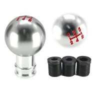 wholesale car modification aluminum gear shift knob shifter lever handle head