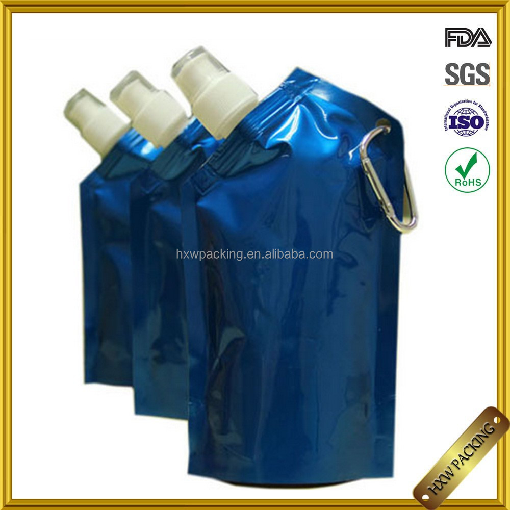 self standing plastic container biodegradable plastic pure water sachet