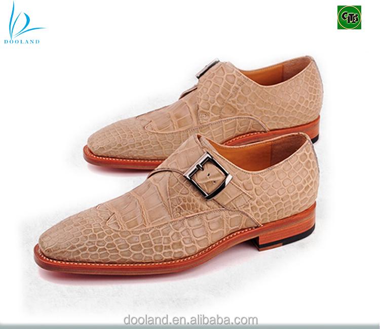 Buy Véritable Cuir Crocodile Véritable Moine Exotique chaussures En De Hommes Chaussures Peau WIHYD29E