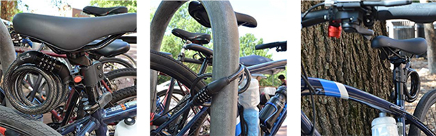 Universal Anti-Pencurian Sepeda Kunci Sepeda Gunung Chain Lock Fixed Password