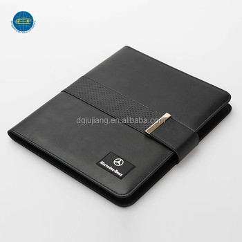 Multipurpose gebruik A5 business portfolio met power bank