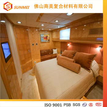 OEM Fireproof honeycomb panel marine cabin Furniture beds