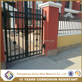 Corrugated Metal Fence Panels,Spear Top Security Steel Gate Fence For Sale  Philippines - Buy Fence For Sale Philippines,Corrugated Metal Fence